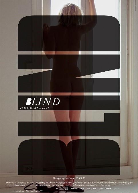 Filmplakat filmen Blind