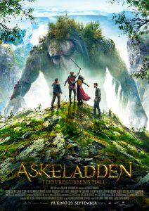 Filmplakaten til Askeladden - I Dovregubbens hall.