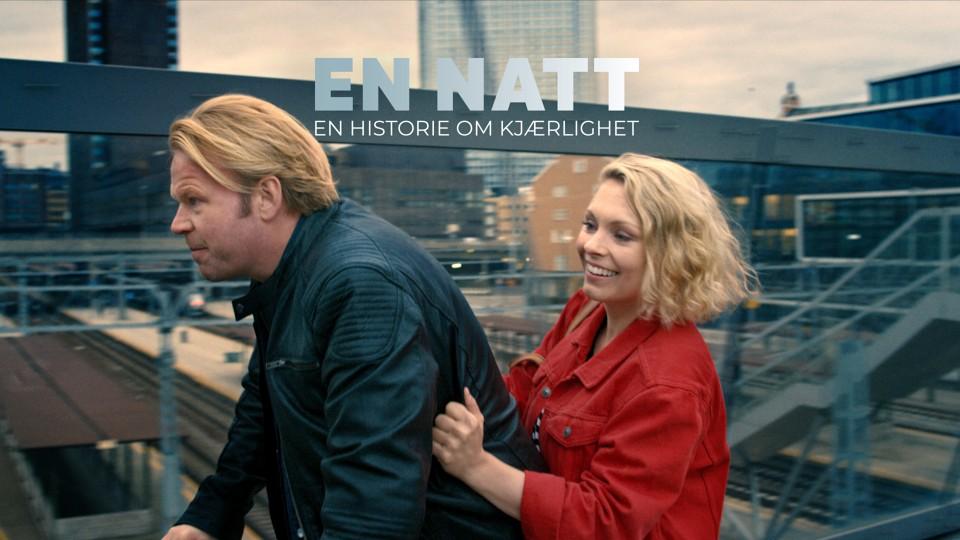 Anders Baasmo Christiansen og MyAnna Buring i En natt.
