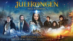 Filmplakat Julekongen - Full rustning.