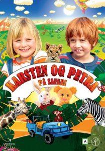 Filmplakat Karsten og Petra på safari